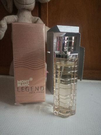 Mont Blanc Legend Pour Femme парфюмированная вода 75мл почти новая