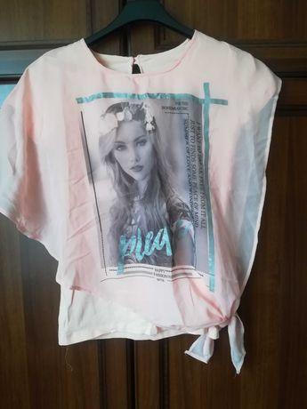 Bluzeczka dziewczęca JAK NOWA