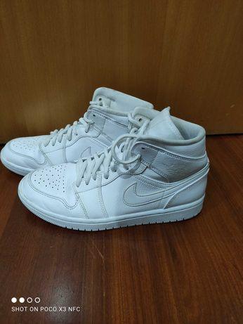 Air Jordan 1 mid white originais