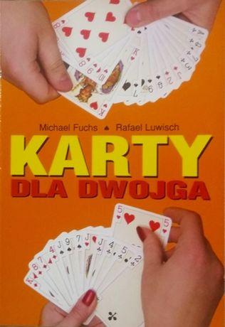 Karty dla dwojga Fuchs Luwisch Gry Brydż Tysiąc Makao Skat Remik Poker