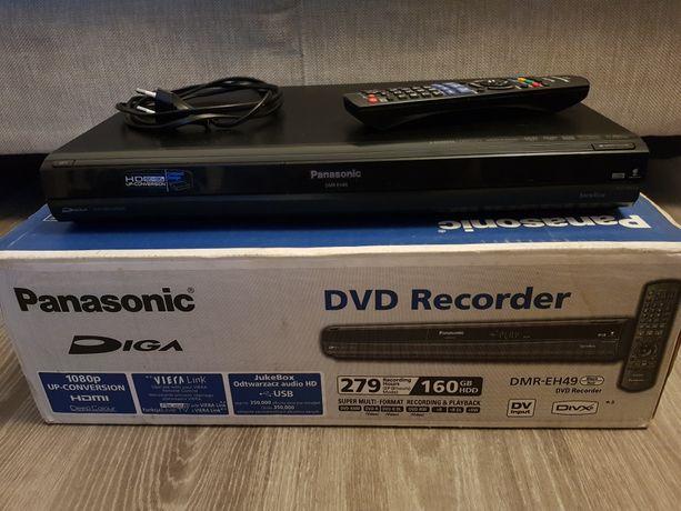 Nagrywarka DVD Panasonic z pilotem oryginalnym