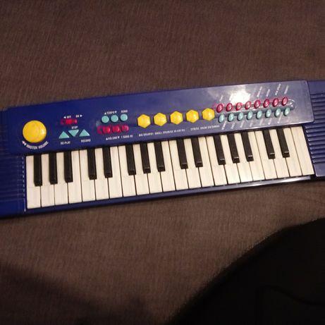 Organy keyboard dla dzieci na baterie
