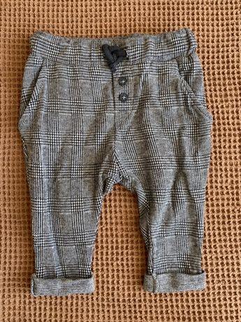 Spodnie chłopięce w kratkę H&M