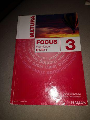 Focus 3 b1/b1+ Pearson ćwiczenia+podręcznik