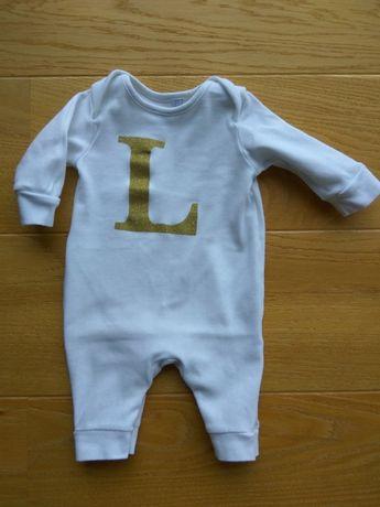 Kombinezon body niemowlęce 0-3 m-ące