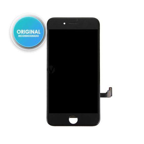 Ecra LCD + Touch para iPhone 7 - Preto (Original-Recondicionado)
