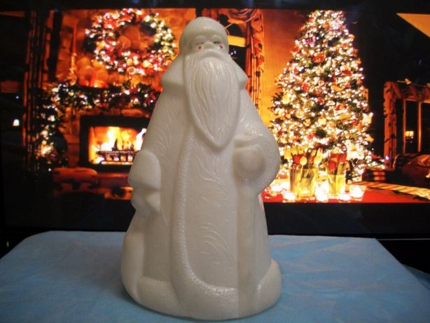 Дед мороз большого размера, новогодняя игрушка винтаж
