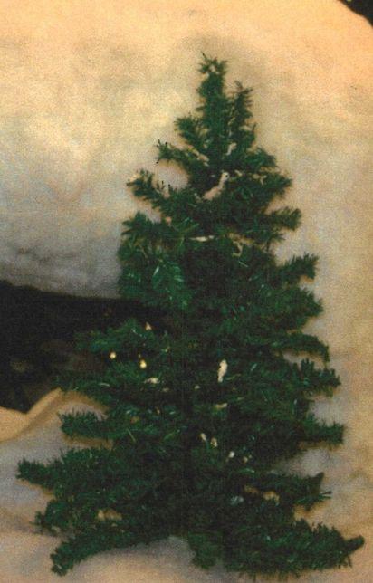 Meia árvore de Natal
