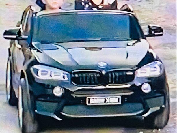 Электромобиль детский двухместный Bambi джип BMW X6M