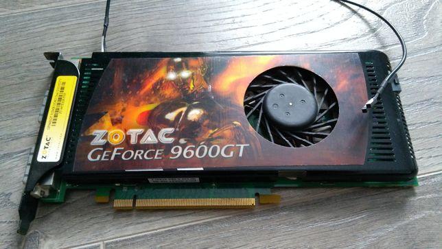 Видеокарта Zotac PCI-Ex GeForce 9600GT 512MB DDR3 (ZT-96TES3P-FSB)