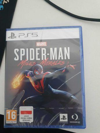 PS5 Gra Spider-Man Miles Morales Zafoliowana!