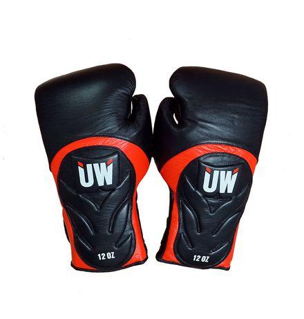 Luvas de boxe UW Pele Genuina (14 e 16oz)