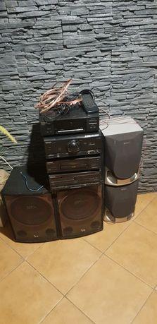 Wieża Technics SE-530 +Głośniki