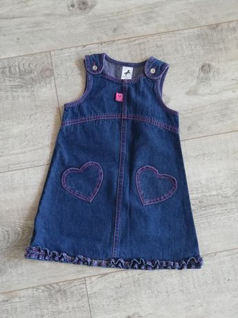 Sukienka Palomino jeansowe rozm 92