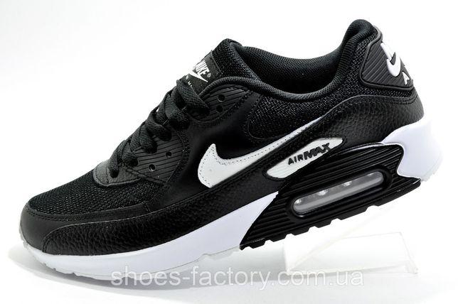 Кроссовки мужские Nike Air Max 90, Чёрный, купить со скидкой
