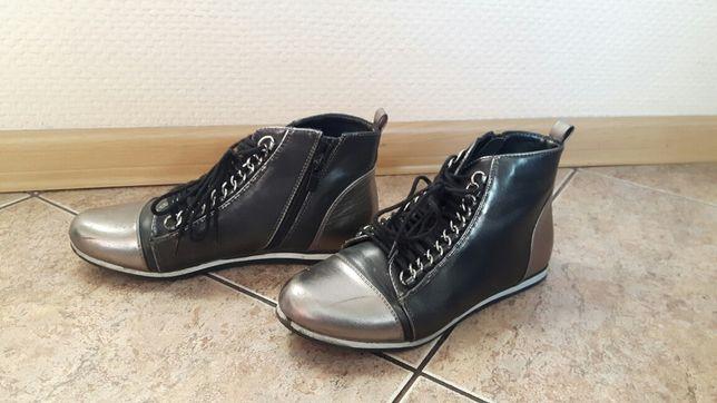 Botki trzewiki Sergio Leone r. 36 buty półbuty