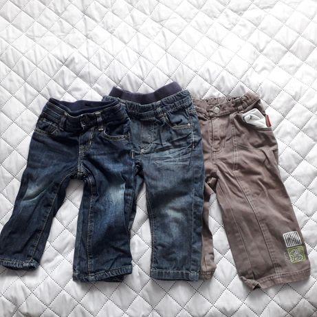 Spodnie 86 niemowlęce dżinsy