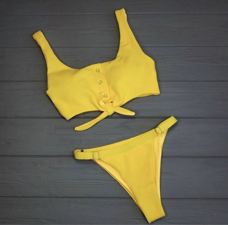 Купальник желтого цвета