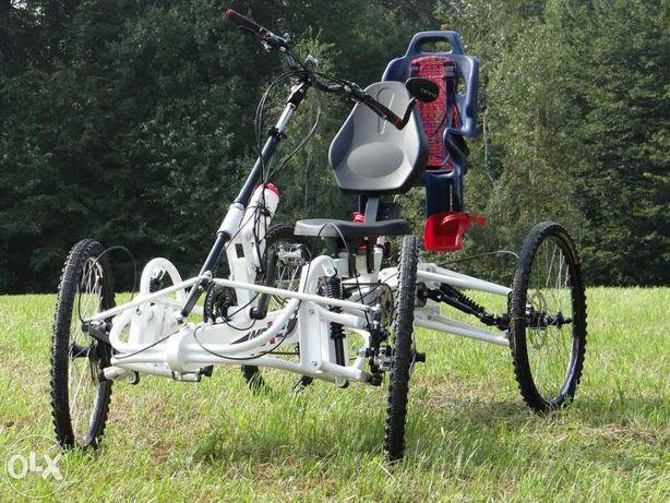 Rower czterokołowy MPX4. Elektryczny rower czterokołowy MPX4