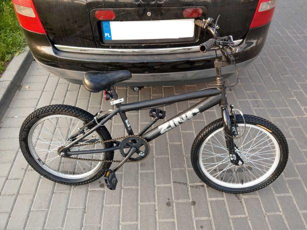 Rower BMX ZINC w dobrym stanie, 100 % sprawny