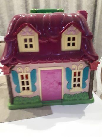 Игровой набор Lil Woodzeez Цветочный дом и Семья Кроликов (6103M) Подр