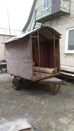 Продаю будку на колесах