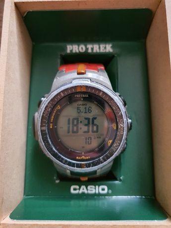 Casio Protrek PRW-3000B-5DR solar compas metalowy korpus