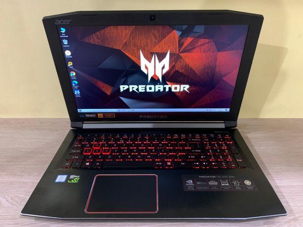 Игровой ноутбук Acer Predator Helios 300 GTX1060, i7-7700HQ, RAM 16Gb