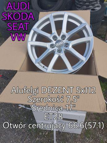 "4 x felgi aluminiowe 5x112 17"" NOWE Audi Seat Skoda VW"