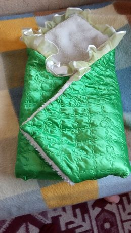 Конверт ,пеленки детское полотенце