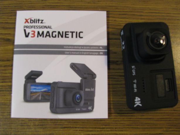 """Sprzedam wideorejestrator Xblitz V3 pro 4K/3""""/150 magnetic"""
