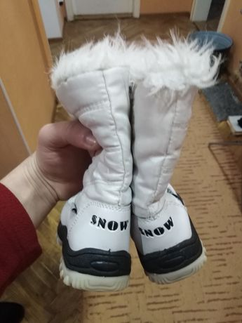 Дитяче зимове взуття 22 розмір