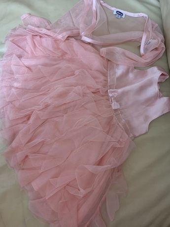 Платье chicco 86 рост розовый набор сарафан с балеро чико