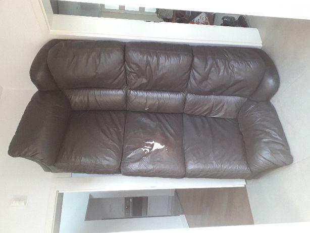 skórzana kanapa na sprzedaż