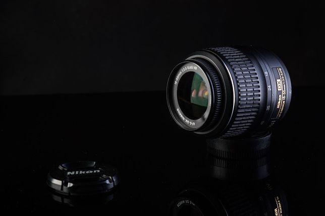 Объектив Nikon 18-55 mm 1:3,5=5,6 G VR со стабилизацией