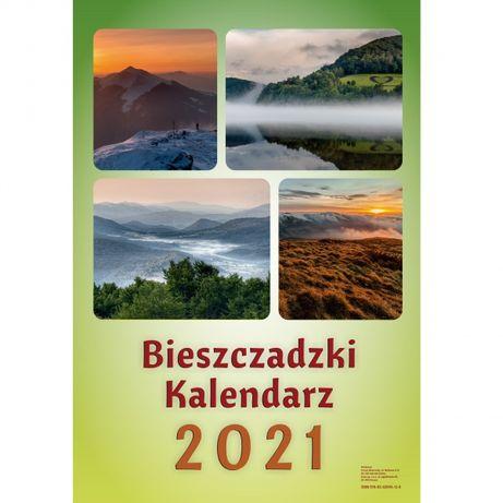 Kalendarz Bieszczady 2021 GIGANT