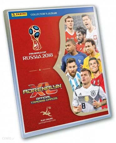 Karty Panini FIFA World Cup Russia 2018