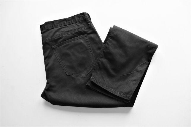 Męskie spodnie jeansy C&A W38 L34 czarne