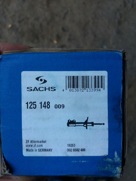 Амортизатор sachs 125 148 MAN