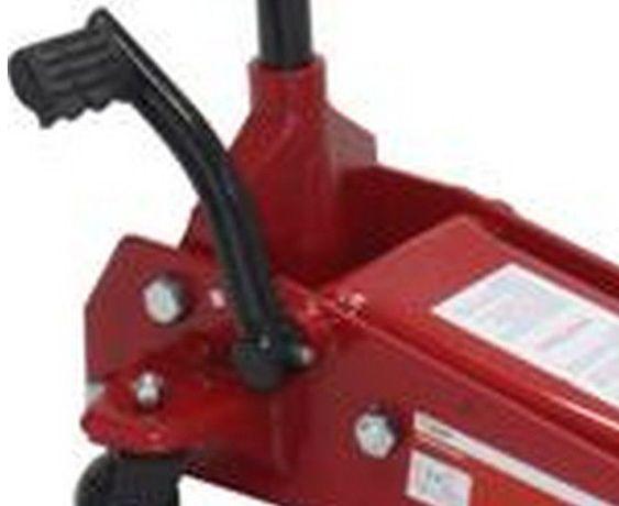 Macaco de rodas capacidade 3500 Kgs com pedal de elevação