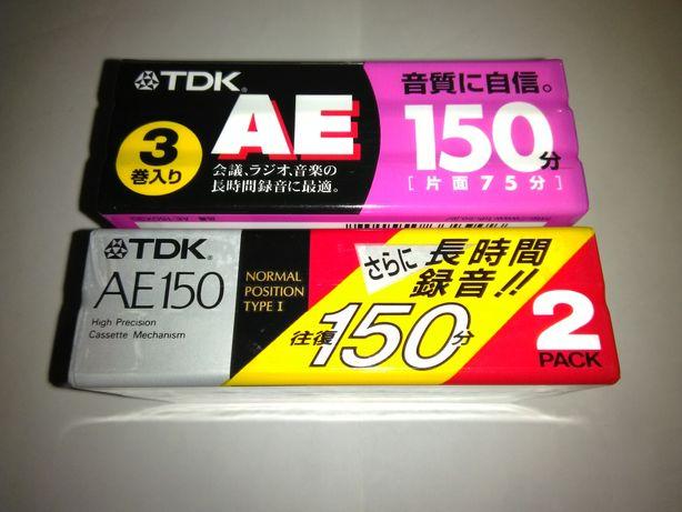 Аудиокассеты TDK AE 150 Japan market аудио кассеты