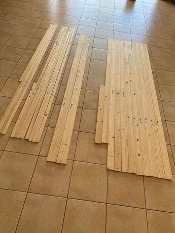 26 Ripas em madeira novas