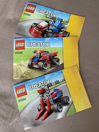LEGO Creator 3 в 1 31030 б/в (оригінал, комплект, інструкціі)