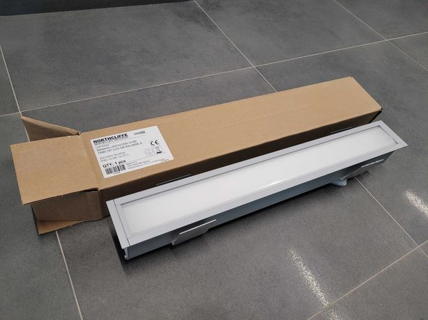 Northcliffe Lampy oprawa Serpens LED1x1550 G185 T830 OP LO3 RAL9006S