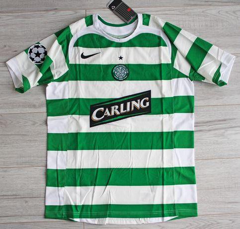 CELTIC Glasgow Retro Home 2005/06 Nike #7 ŻURAWSKI, roz. L