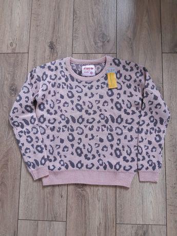 Sweterek panterka rozm 146
