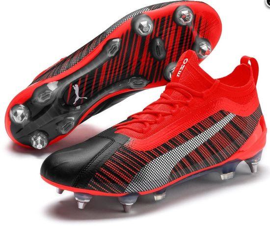 Profesjonalne Buty piłkarskie korki One 5.1 SG Puma (red/black) 46