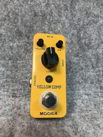 Mooer Yellow Comp   Compressor   Гитарный, бассовый компрессор