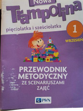 Nowa Trampolina pięciolatka i sześciolatka Przewodnik metodyczny IX