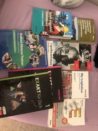 Książki technikum spedtor
